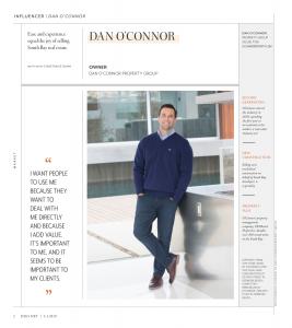 Dan O'Connor on magazine